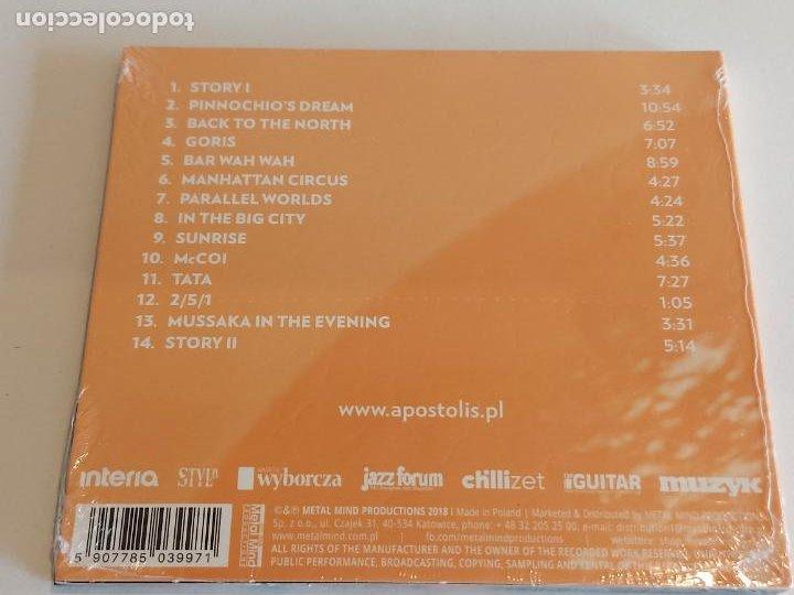CDs de Música: APOSTOLIS ANTHIMOS / PARALLEL WORLDS / DIGIPACK-CD - IMPORT / 14 TEMAS / PRECINTADO. - Foto 2 - 251416280