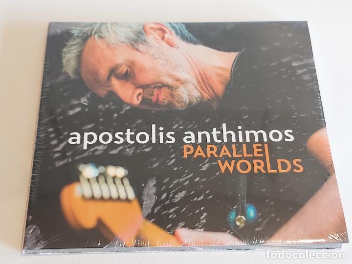 APOSTOLIS ANTHIMOS / PARALLEL WORLDS / DIGIPACK-CD - IMPORT / 14 TEMAS / PRECINTADO. (Música - CD's Jazz, Blues, Soul y Gospel)