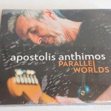 CDs de Música: APOSTOLIS ANTHIMOS / PARALLEL WORLDS / DIGIPACK-CD - IMPORT / 14 TEMAS / PRECINTADO.. Lote 251416280