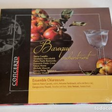 CDs de Música: BAROQUE ENCHANTMENT / ENSEMBLE CHIAROSCURO / DIGIPACK-CD - MUSIC MEDIA-2016 / IMPECABLE.. Lote 251416875