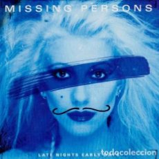 CDs de Música: MISSING PERSONS ‎– LATE NIGHTS EARLY DAYS. Lote 251417830