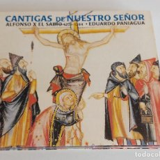 CDs de Música: CANTIGAS DE NUESTRO SEÑOR / ALFONSO X EL SABIO / EDUARDO PANIAGUA / DIGIPACK-CD / IMPECABLE.. Lote 251417850