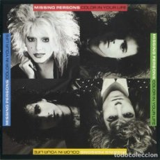 CDs de Música: MISSING PERSONS ‎– COLOR IN YOUR LIFE. Lote 251418045