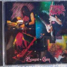 CDs de Música: MORBID ANGEL – ENTANGLED IN CHAOS (EARACHE 1996) // DEICIDE IMMOLATION CARCASS OBITUARY HATE ETERNAL. Lote 251426010
