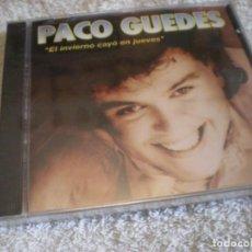 CDs de Música: CD MUSICA PACO GUEDES PRECINTADO. Lote 251518935