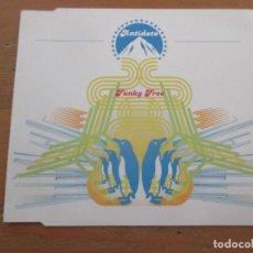 CDs de Música: ANTÍDOTO FUNKY FREE CD EP 5 VERSIONES EVERLASTING WAH WAH 2003. Lote 251531840