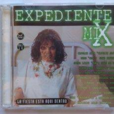 CDs de Música: EXPEDIENTE MIX. LA FIESTA ESTÁ AQUÍ DENTRO. CD DOBLE CODE MUSIC CO-30006-CDTV. ESPAÑA 1996.. Lote 251535560