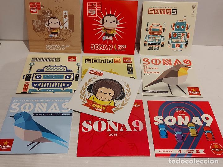 SONA 9 / CONCURS DE MAQUETES / PROMO CDS-IMPECABLES / 10 AÑOS DISTINTOS / 220 TEMAS EN TOTAL. (Música - CD's Otros Estilos)