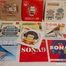 CDs de Música: SONA 9 / CONCURS DE MAQUETES / PROMO CDS-IMPECABLES / 10 AÑOS DISTINTOS / 220 TEMAS EN TOTAL.. Lote 251568150