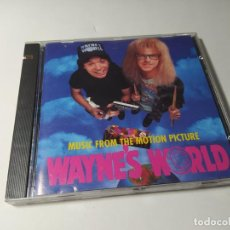 CDs de Musique: CD - MUSICA - MUSIC FROM THE MOTION PICTURE WAYNE'S WORLD. Lote 251580100