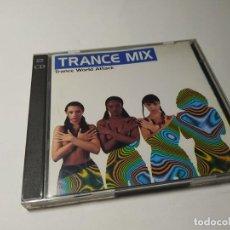 CD de Música: CD - MUSICA - TRANCE MIX (TRANCE WORLD ATTACK) - 2CDS. Lote 251586125
