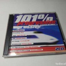 CD de Música: CD - MUSICA - VARIOUS – 101% PROGRESSIVE. Lote 251587185