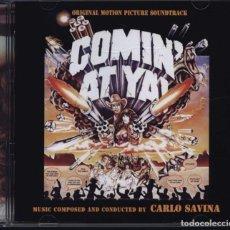 CDs de Música: COMIN´ AT YA / CARLO SAVINA CD BSO - GDM. Lote 251595275