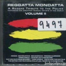 CDs de Música: REGGATTA MONDATTA (TRIBUTE TO THE POLICE II) CD ARK 1998. Lote 251621200