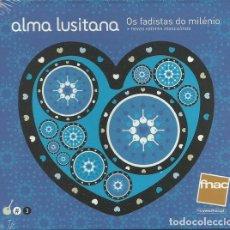 CDs de Música: ALMA LUSITANA 3 - OS FADISTAS DO MILENIO - NOVOS VALORES MASCULINOS. Lote 251627630