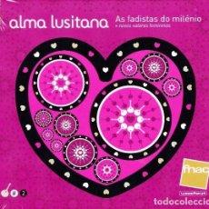 CDs de Música: ALMA LUSITANA 2 - OS FADISTAS DO MILENIO - NOVOS VALORES FEMININOS. Lote 251628330