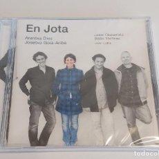 CDs de Música: ARANTXA DIEZ-JOSETXO GOIA-ARIBE / EN JOTA / CD - KARONTE / 12 TEMAS / PRECINTADO.. Lote 251628885
