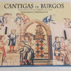 CDs de Música: CANTIGAS DE BURGOS / ALFONSO X EL SABIO / EDUARDO PANIAGUA / DIGIPACK-CD-PNEUMA / IMPECABLE.. Lote 251630305
