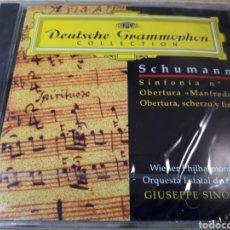 CDs de Música: SCHUMANN SINFONIA 2 BERTURA MANFREDO OBERTURA SCHERZO Y FINAL. Lote 251682820