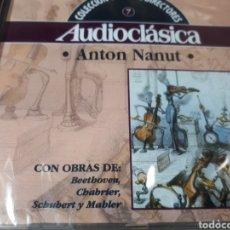 CDs de Música: DIR. ANTON NANUT OBRAS DE BEETHOENCHABRIER SCHUBERT Y MAHLER. Lote 251689425