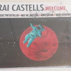 CDs de Música: RAI CASTELLS / WELCOME / DIGIPACK-CD-2018 / 9 TEMAS / PRECINTADO.. Lote 251703590