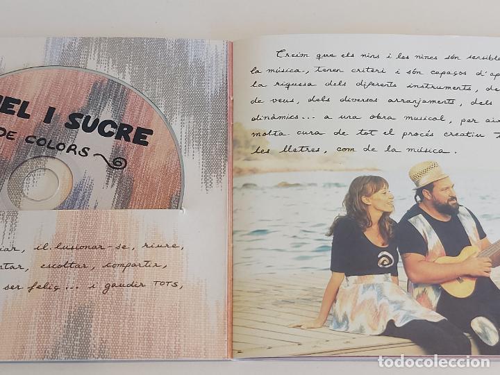 CDs de Música: MEL I SUCRE / DE COLORS / MÚSICA I ANIMACIÓ PER A TOTA LA FAMILIA / LIBRETO-CD / IMPECABLE. - Foto 2 - 251707800