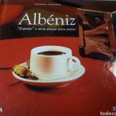 CDs de Música: ALBENIZ ESPAÑA Y OTRAS PIEZAS PARA PIANO. Lote 251719375