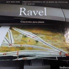 CDs de Música: RAVEL CONCIERTOS PARA PIANO. Lote 251719880