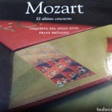 CDs de Música: MOZART EL ULTIMO CONCIERTO. Lote 251720620