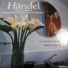 CDs de Música: HANDEL MUSICA ACUATICA MUSICA PARA LOS REALES FUEGOS ARTIFICIALES. Lote 251720845