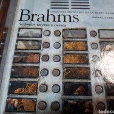 CDs de Música: BRAHMS SINFONIAS TERCERA Y CUARTA. Lote 251721345