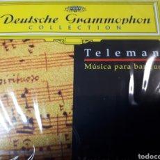 CDs de Música: TELEMAN MUSICA PARA BANQUETES. Lote 251725315