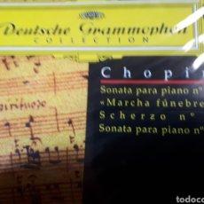 CDs de Música: CHOPIN SONATA PARA PIANO N.2 MARCHA FUNEBRE SCHERZO N.3 SONATA PARA PIANO N.3. Lote 251725570