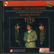 CDs de Musique: TITO / MIKIS THEODORAKIS CD BSO. Lote 251737545