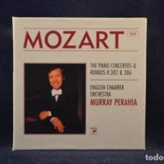 CDs de Música: MOZART - ENGLISH CHAMBER ORCHEST, MURRAY PERAHIA - THE PIANO CONCERTOS & RONDOS K.382 & 386 - 10 CD. Lote 251800295