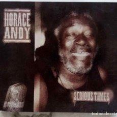CDs de Música: HORACE ANDY. SERIOUS TIMES. CD DIGIPAK DESPEGABLE. Lote 251816275