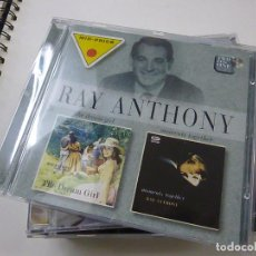 CDs de Música: CD: RAY ANTHONY: THE DREAM GIRL + MOMENTS TOGETHER (2 ORIGINALS ALBUMS ON 1 CD).- C 4. Lote 251879305