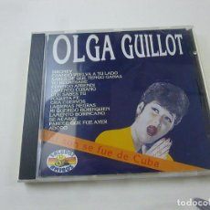 CDs de Música: OLGA GUILLOT - EL SON SE FUE DE CUBA CD ALBUM SALUDOS AMIGOS 1993 -C 4. Lote 251881265