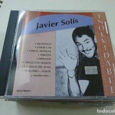 CDs de Música: JAVIER SOLIS - INOLVIDANLE - CD - COLUMBIA - C 4. Lote 251883295