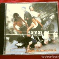 CDs de Música: SOMOS NEW SOUL (CD 1999) NOTAS DE CONSCIENCIA. Lote 251891960