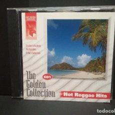 CDs de Música: THE GOLDEN COLLECTION HOT REGGAE HITS CD 1999 PEPETO. Lote 251921505