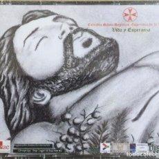 CDs de Música: CD Y DVD. AGRUPACIÓN MUSICAL DEL SANTO SEPULCRO (LEÓN) NUEVO. Lote 278333803