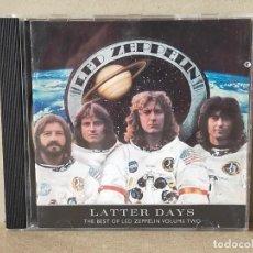 CD de Música: LED ZEPPELIN: LATTER DAYS - CD (10 TEMAS) - ATLANTIC RECORDING. Lote 251999235