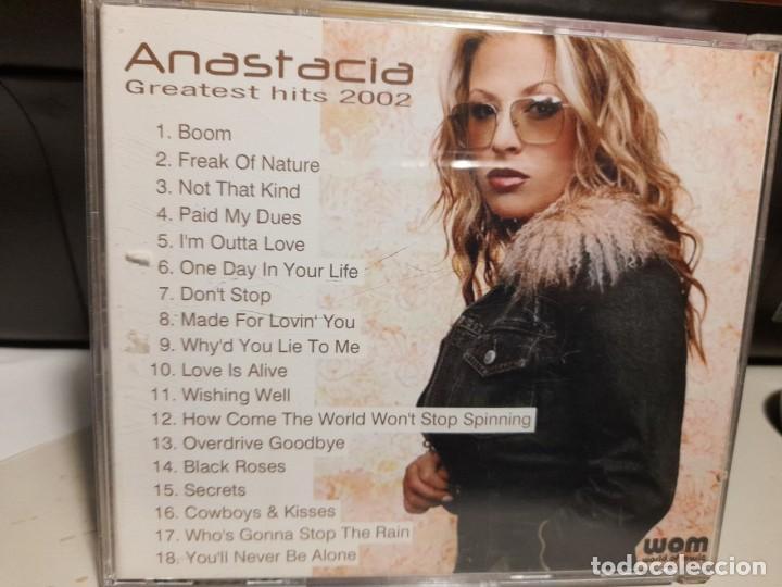 CDs de Música: CD ANASTACIA : GREATEST HITS 2002 - Foto 2 - 252044570