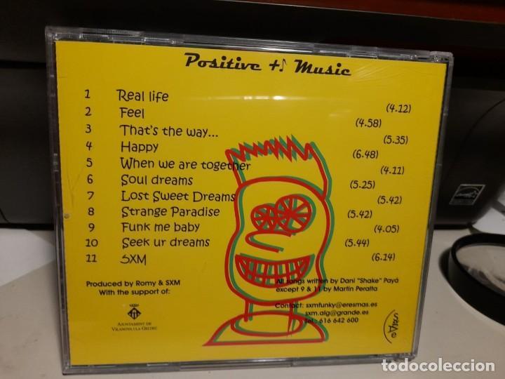 CDs de Música: CD SEX MACHINE : POSITIVE MUSIC ( FUNKY SOUL BAND ) - Foto 2 - 252050580