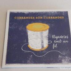 CDs de Música: CORRANDES SÓN CORRANDES / LLIGADETES AMB UN FIL / DIGIPACK-CD-TEMPS RECORD / 14 TEMAS / IMPECABLE.. Lote 252056570