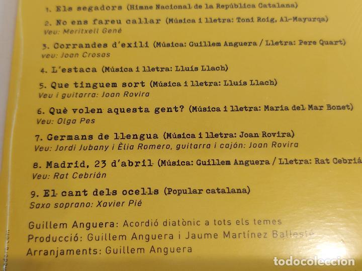 CDs de Música: GUILLEM ANGUERA / GROC / CD - 2018 / 9 TEMAS / PRECINTADO. - Foto 3 - 252058810