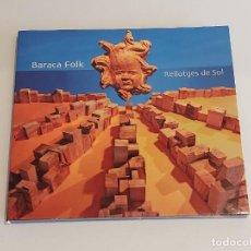 CDs de Música: BARACA FOLK / RELLOTGES DE SOL / DIGIPACK-CD / 12 TEMAS / IMPECABLE.. Lote 252061030