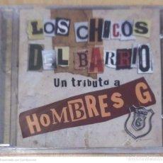 CDs de Música: LOS CHICOS DEL BARRIO TRIBUTO A HOMBRES G - CD 2008 * PRECINTADO. Lote 252063195