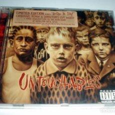 CDs de Música: CD KORN - UNTOUCHABLES. Lote 252091300